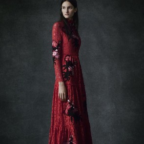 Erdem Red New post on the blog! Link in the bio  An extraordinary Sophie Hallette lace dyed in a red we'd love to call «Erdem Red»! #sophiehallette #lace #erdem @erdemlondon #precollection #prefall16 #red #redlace #reddress #redflowers
