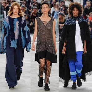 Street style and Couture details, yesterday Koché opened Paris Fashion Week with brio! #SophieHallette #lace #Koché #pfw #ss17 #Paris #fashionweek #parisfashionweek #runway #show #newcollection #streetstyle
